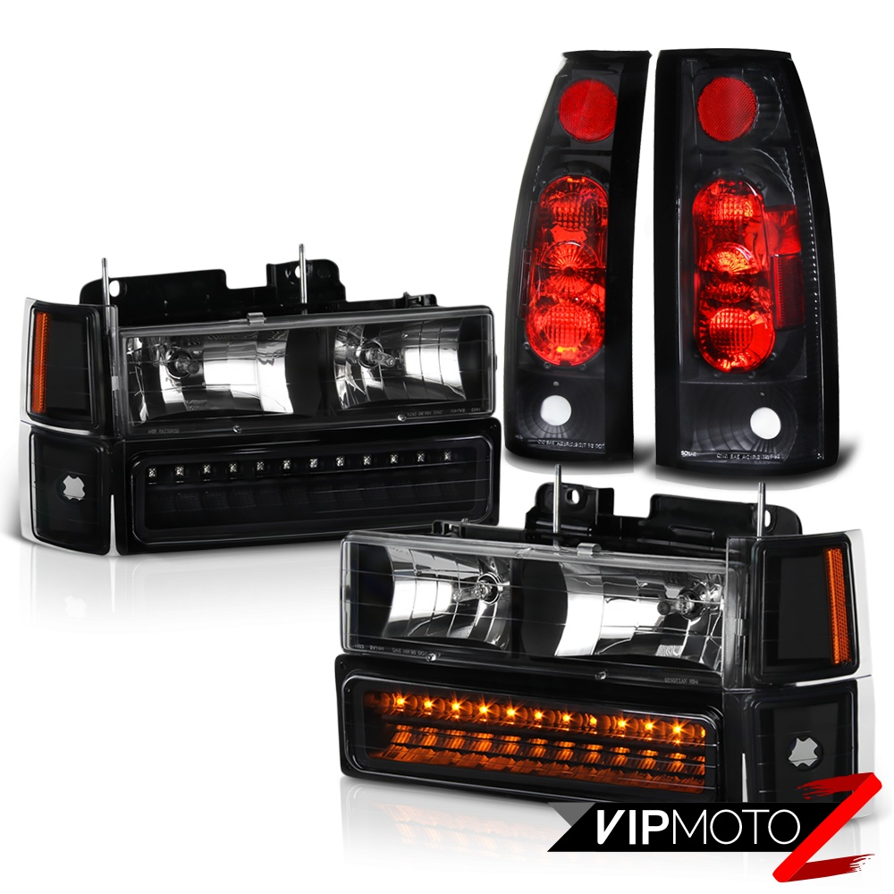 turn signal side marker lights wiring diagram 1994 1995 1996 1997 1998 chevy suburban tahoe black tail ... 1997 c3500 rear side marker lights diagram #1