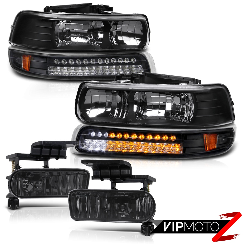 chevy suburban tahoe 2000 2006 led bumper parking
