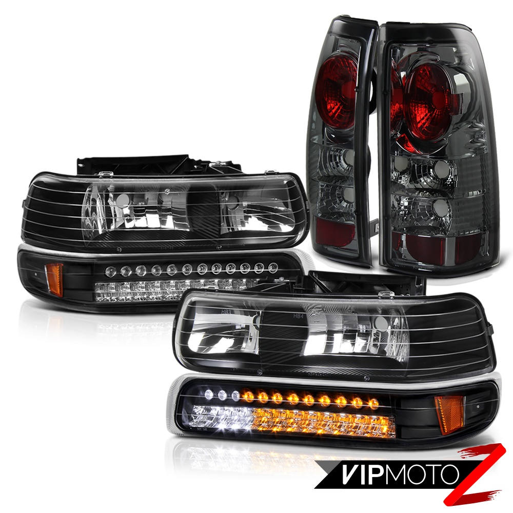 182256693688on 88 98 Chevy Led Tail Lights
