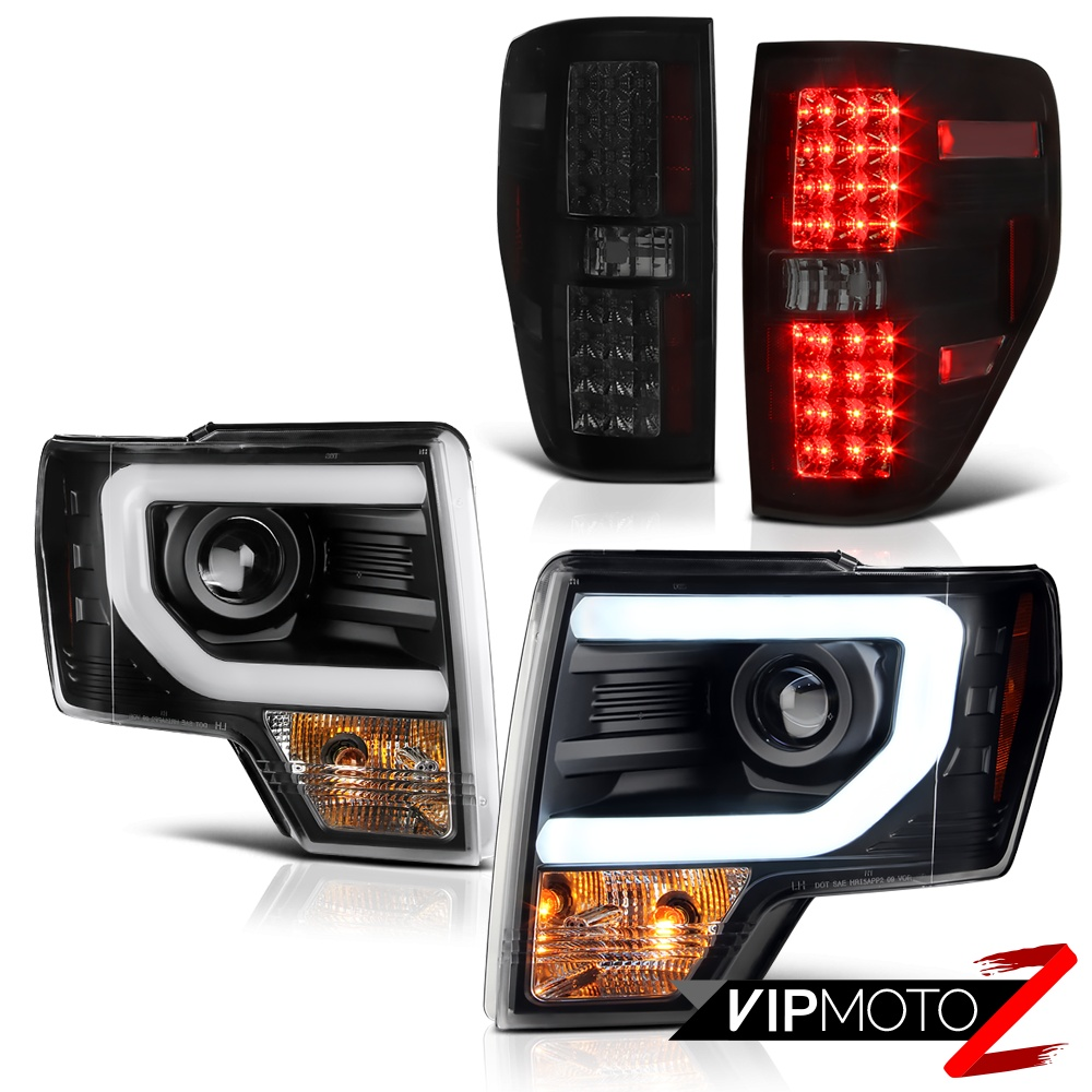 2009 2014 f150 raptor style sinister black led tail light cyclop optic. Black Bedroom Furniture Sets. Home Design Ideas
