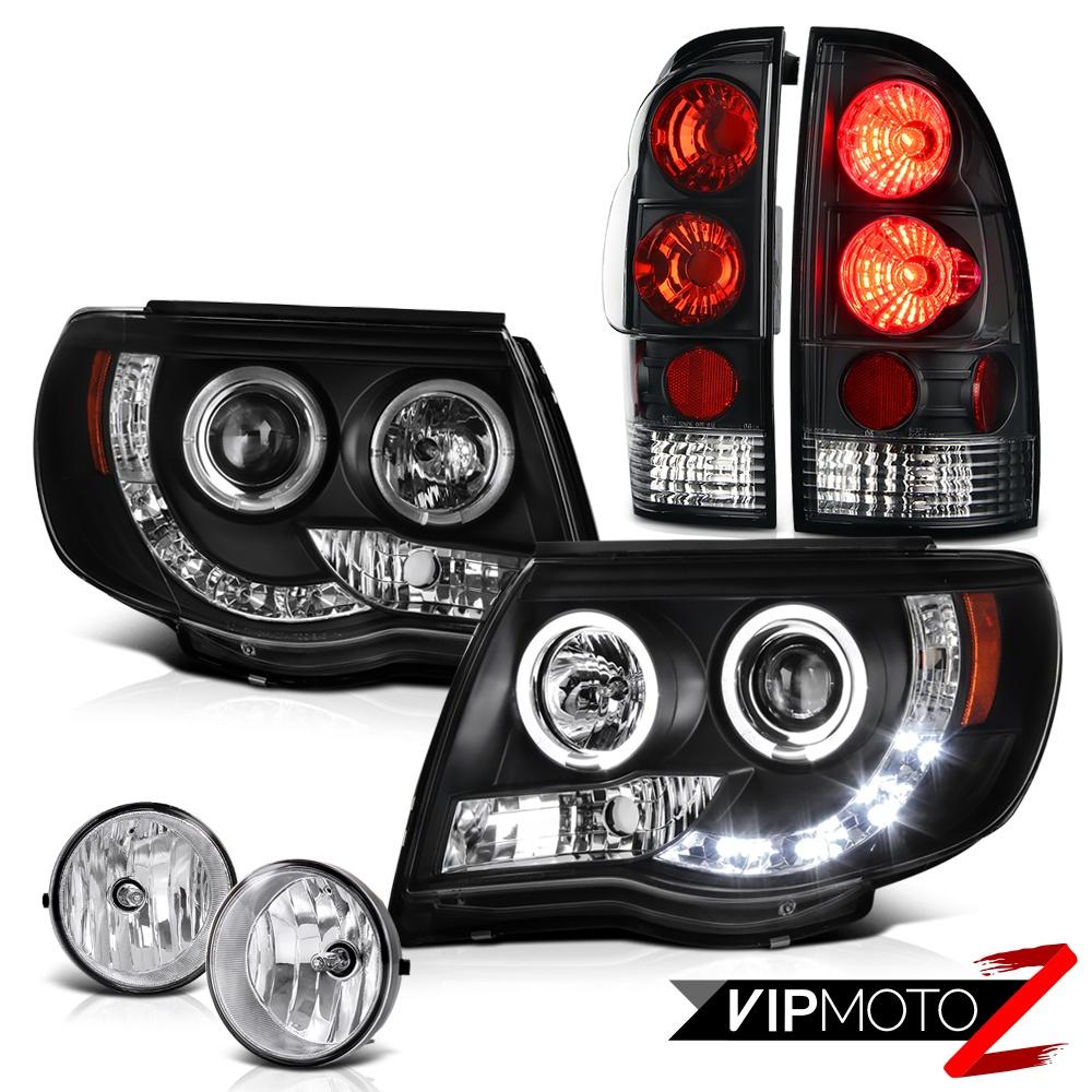 halo projector headlamps rear brake tail lights fog lamp. Black Bedroom Furniture Sets. Home Design Ideas