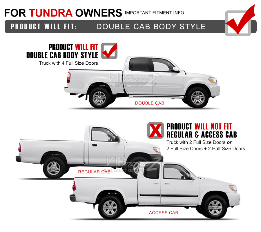 Details about [4PC Set] For 05-06 Tundra Double Cab Left Right Headlights  Corner Signal Lamps