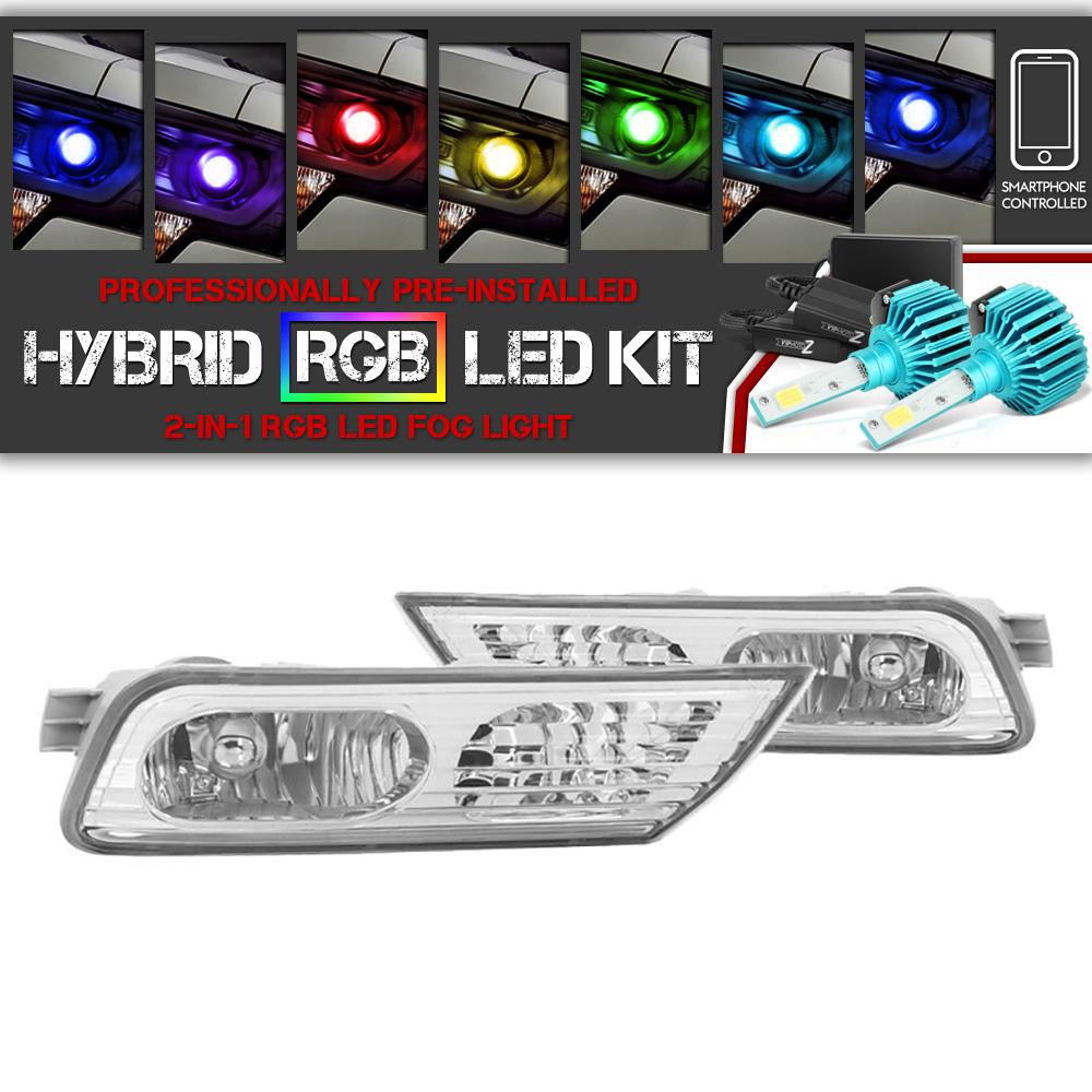 Fits 2007-2009 Acura MDX Fog Light Pair AC2592107+AC2593107